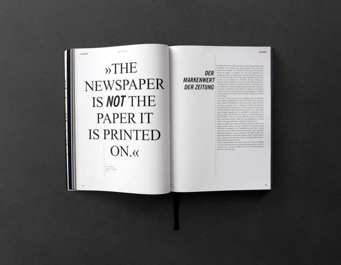 shifting newspaper